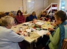 Jackie Smith's textile workshop