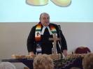 Graham Tidmarsh celebrates communion